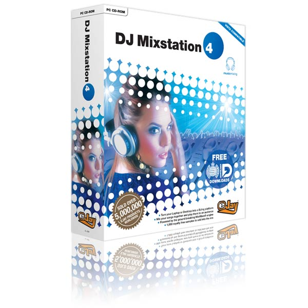 Box packaging for music dj software
